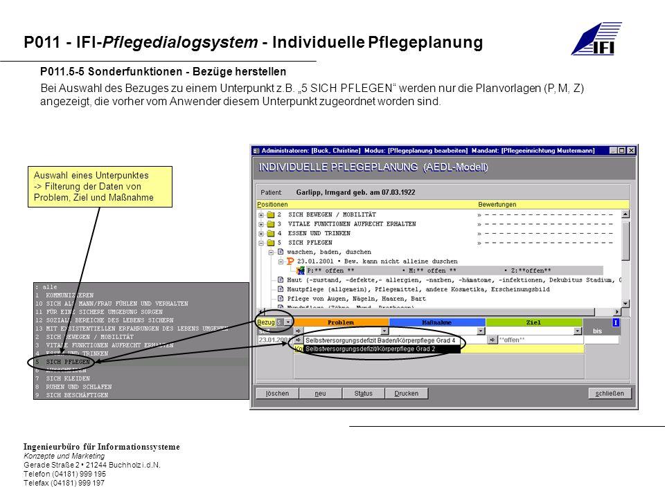 P011.5-5 Sonderfunktionen - Bezüge herstellen