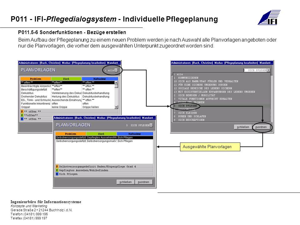 P011.5-6 Sonderfunktionen - Bezüge erstellen
