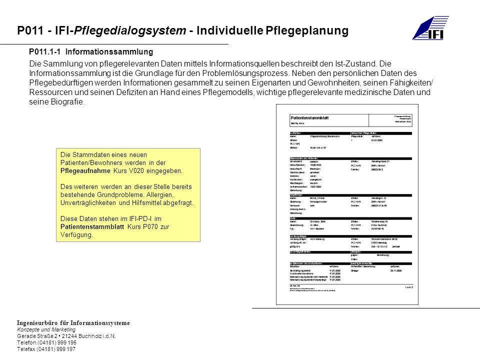 P011.1-1 Informationssammlung