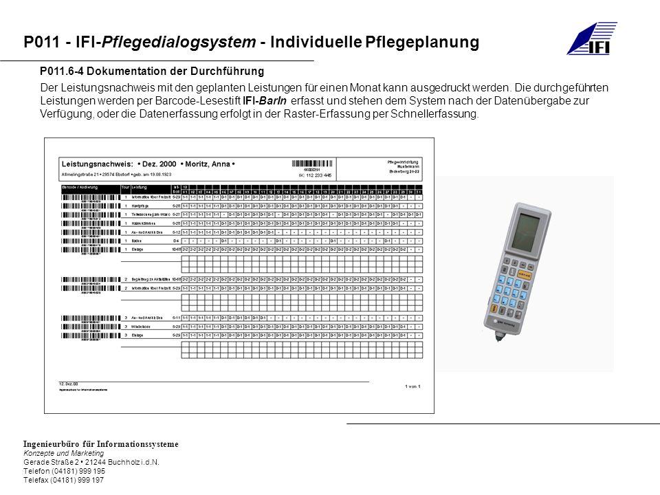 P011.6-4 Dokumentation der Durchführung