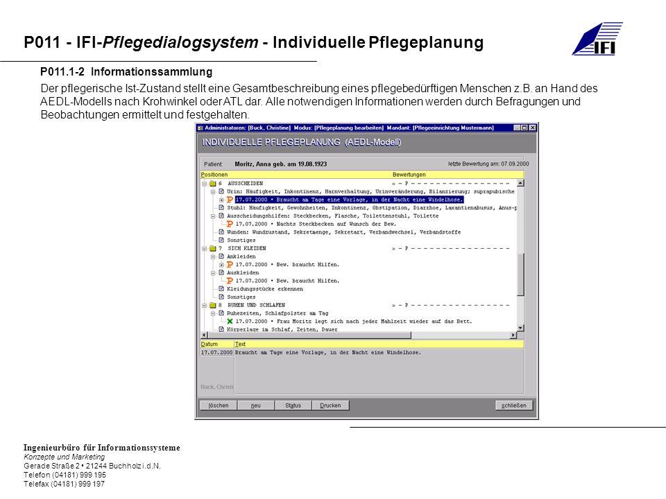 P011.1-2 Informationssammlung