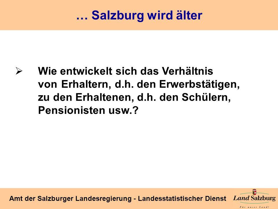 … Salzburg wird älter