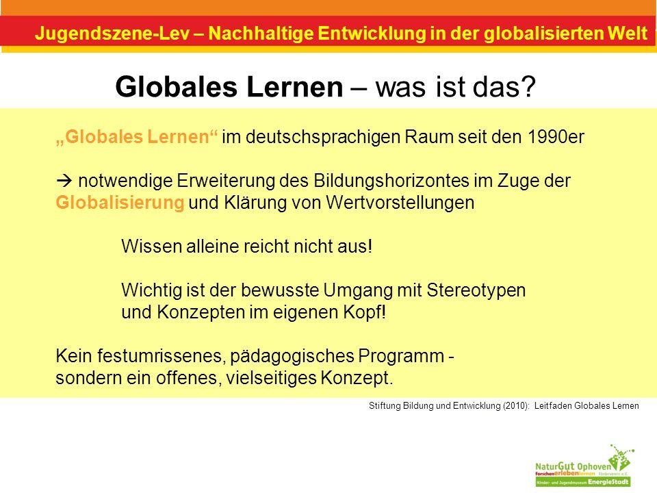 Globales Lernen – was ist das