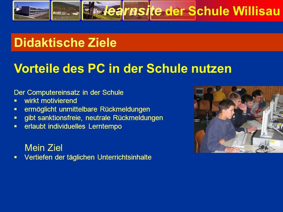 Vorteile des PC in der Schule nutzen