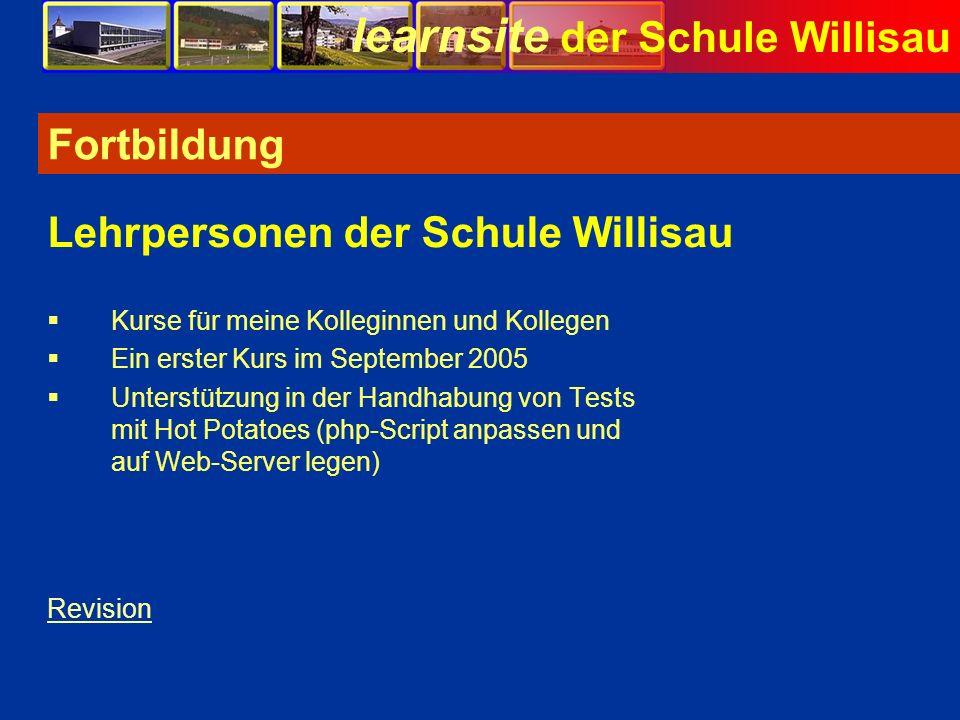 Lehrpersonen der Schule Willisau