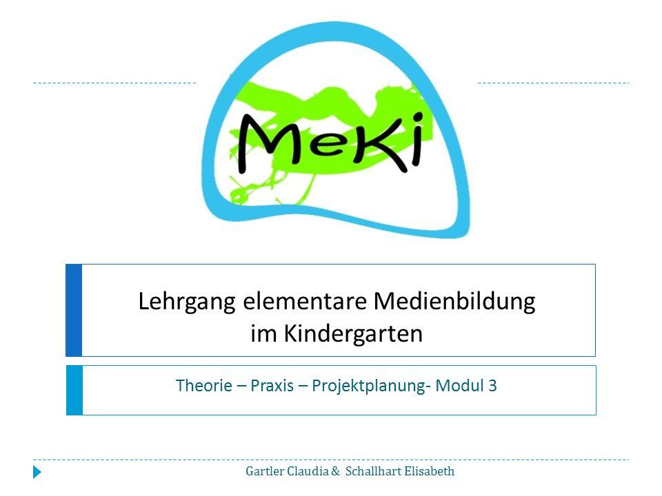 Lehrgang elementare Medienbildung im Kindergarten