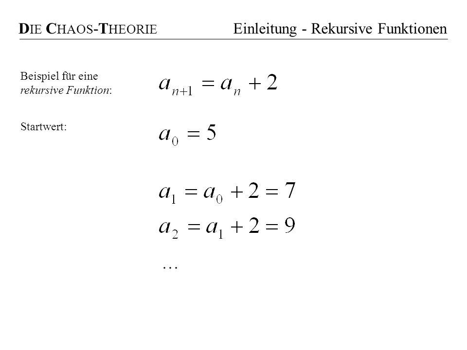 Einleitung - Rekursive Funktionen