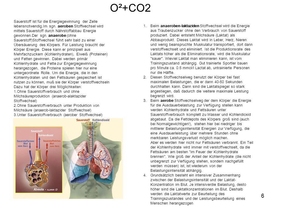 O²+CO2