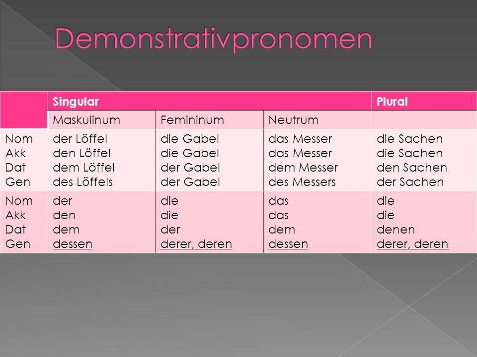 Demonstrativpronomen