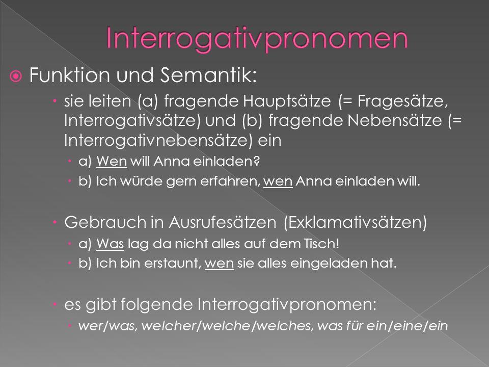 Interrogativpronomen