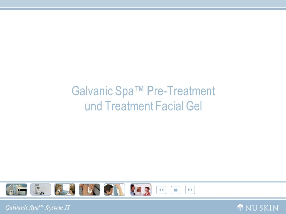 Galvanic Spa™ Pre-Treatment und Treatment Facial Gel