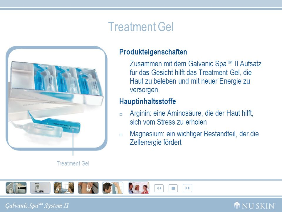 Treatment Gel Produkteigenschaften