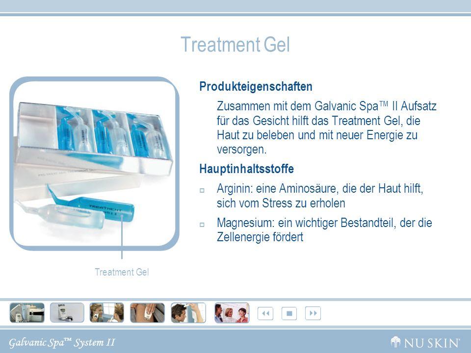 Treatment Gel Produkteigenschaften