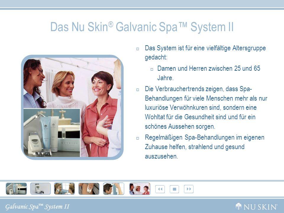 Das Nu Skin® Galvanic Spa™ System II