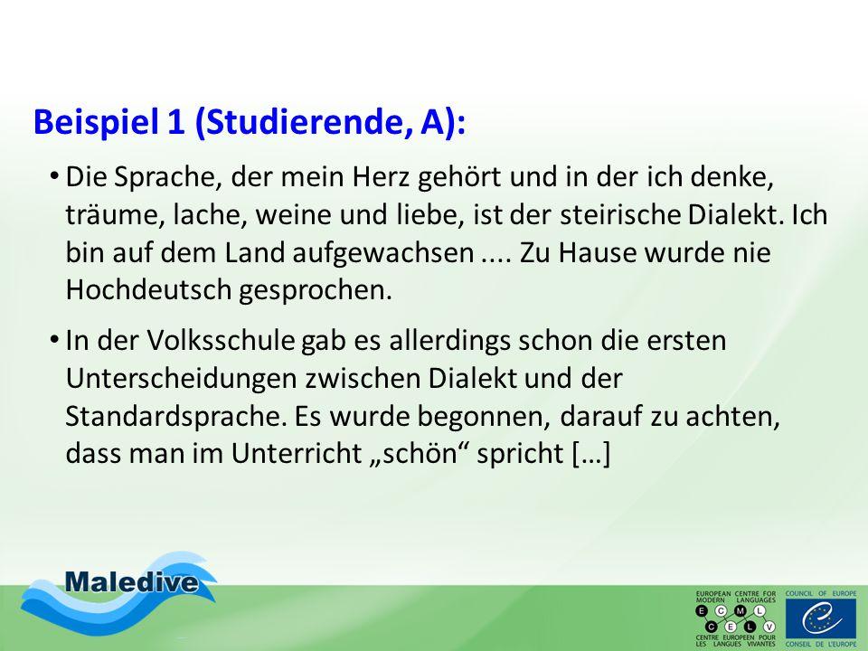 Beispiel 1 (Studierende, A):