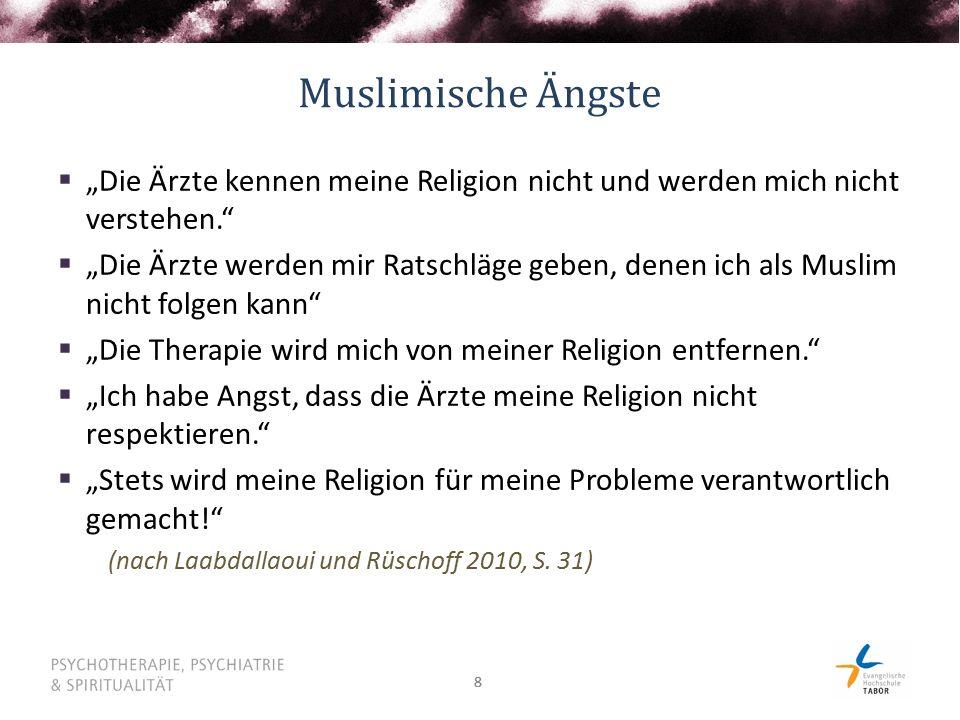 """Muslimische Ängste """"Die Ärzte kennen meine Religion nicht und werden mich nicht verstehen."""