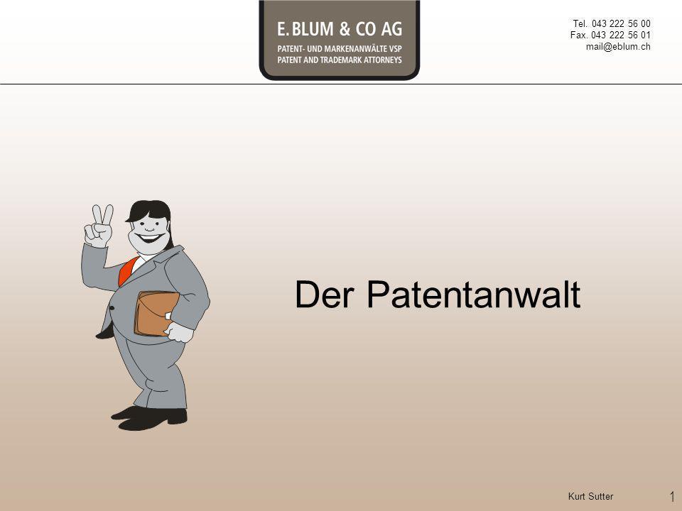 Der Patentanwalt Mich vorstellen.