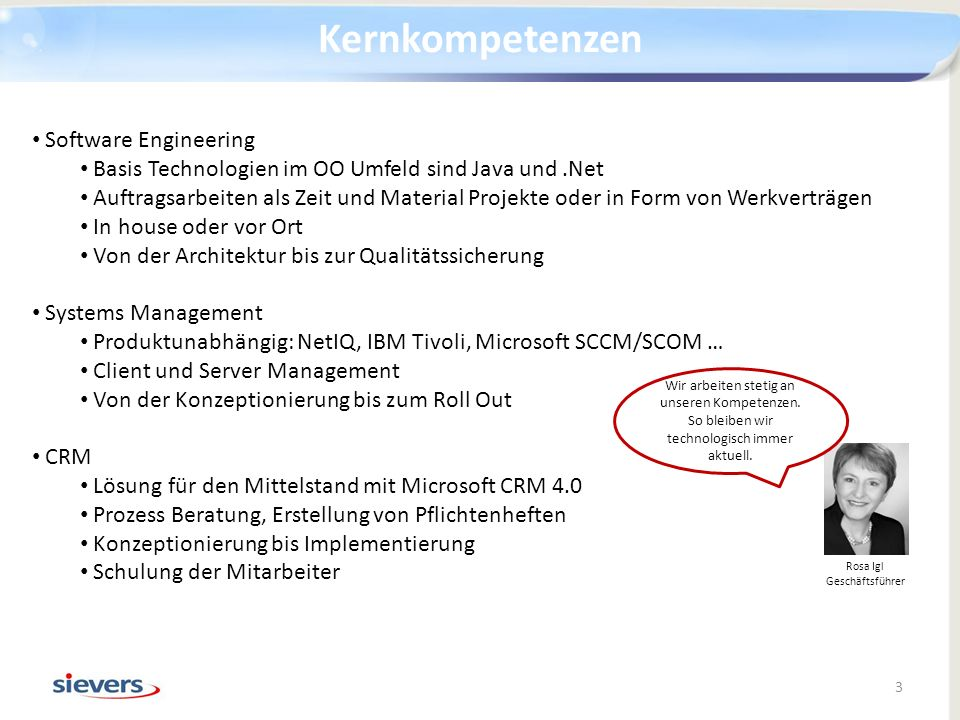 Kernkompetenzen Software Engineering