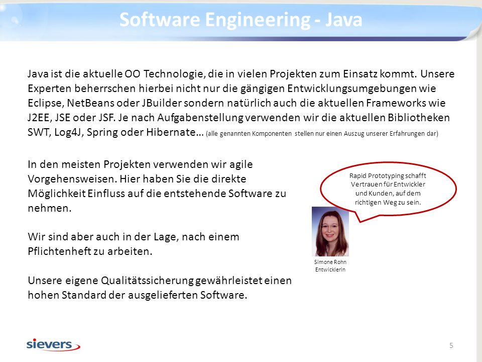 Software Engineering - Java