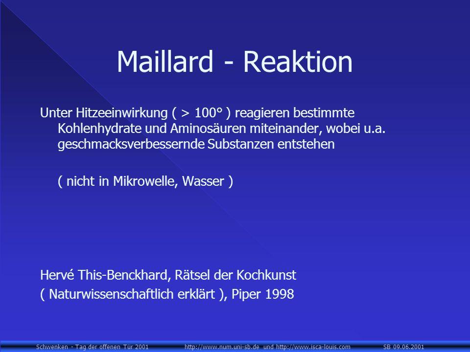 Maillard - Reaktion