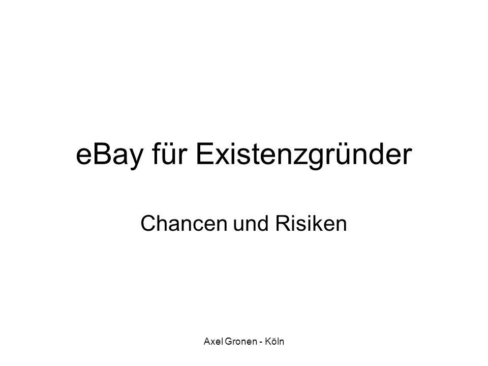 eBay für Existenzgründer