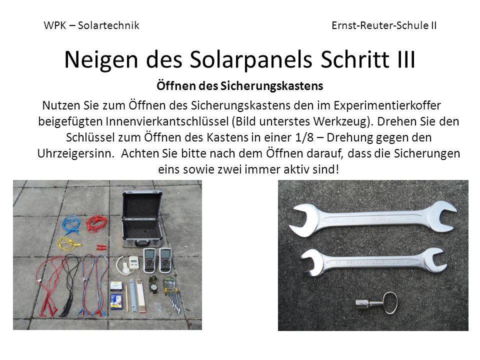 WPK – Solartechnik Ernst-Reuter-Schule II