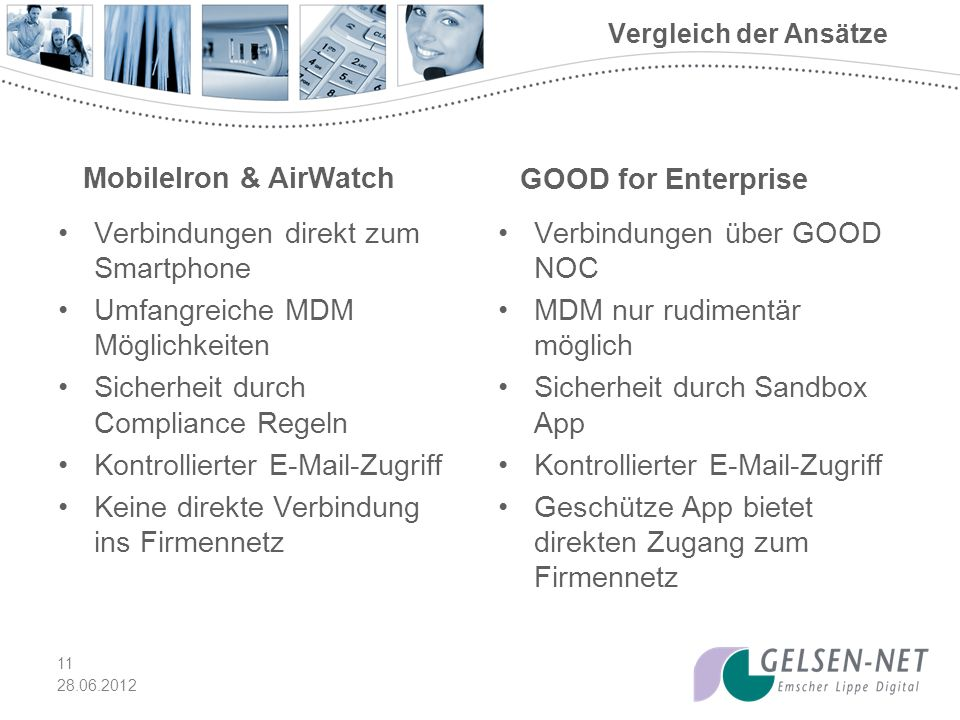 MobileIron & AirWatch GOOD for Enterprise