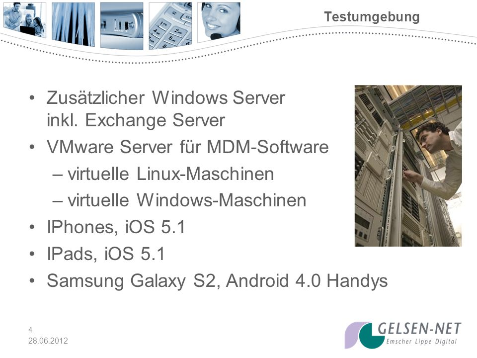 Zusätzlicher Windows Server inkl. Exchange Server