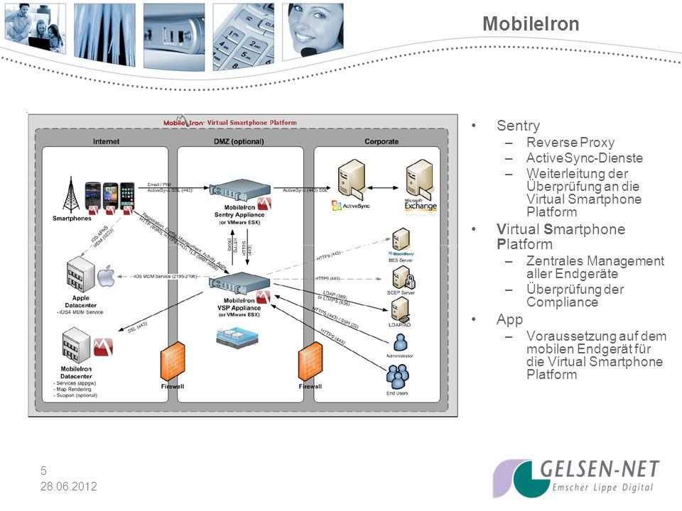 MobileIron Sentry Virtual Smartphone Platform App Reverse Proxy