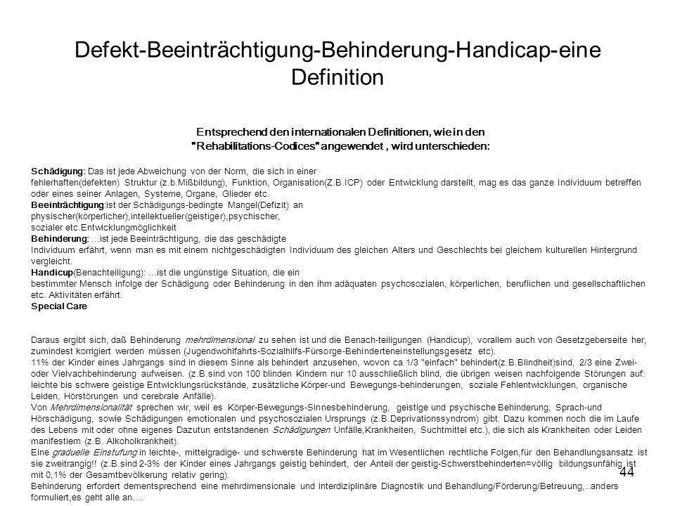 Defekt-Beeinträchtigung-Behinderung-Handicap-eine Definition
