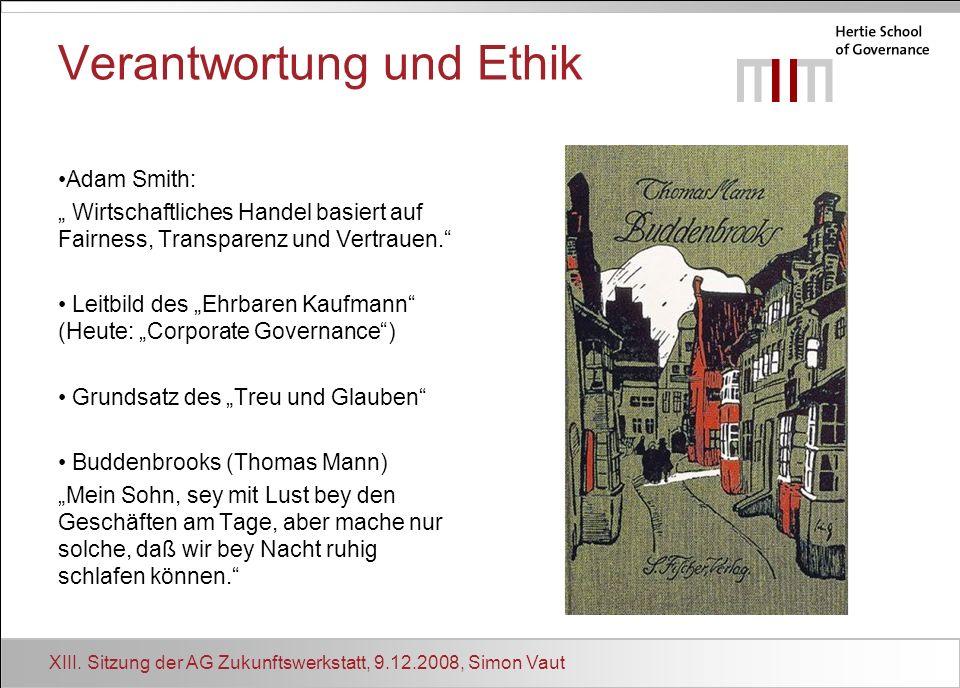Verantwortung und Ethik