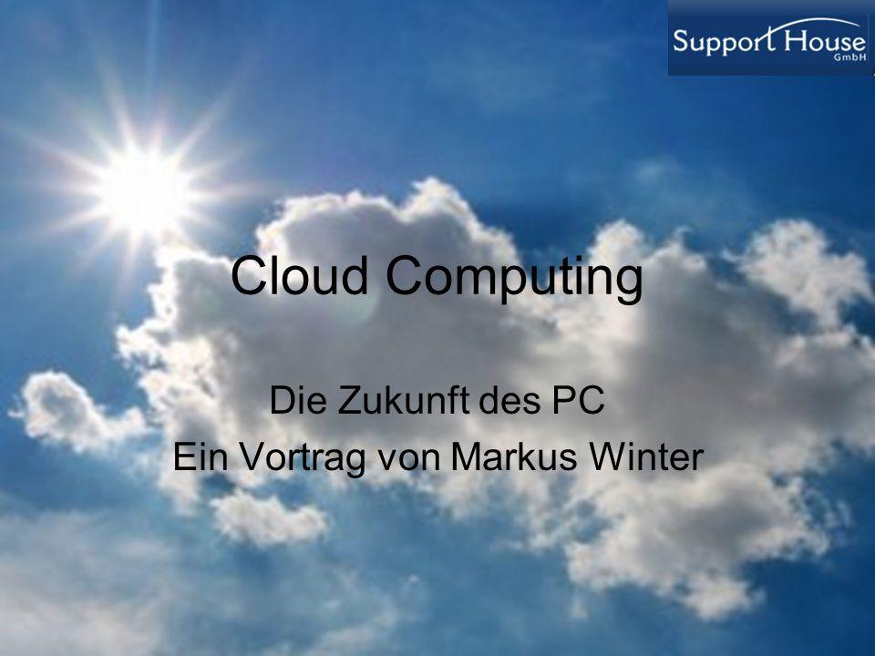 Die Zukunft des PC Ein Vortrag von Markus Winter