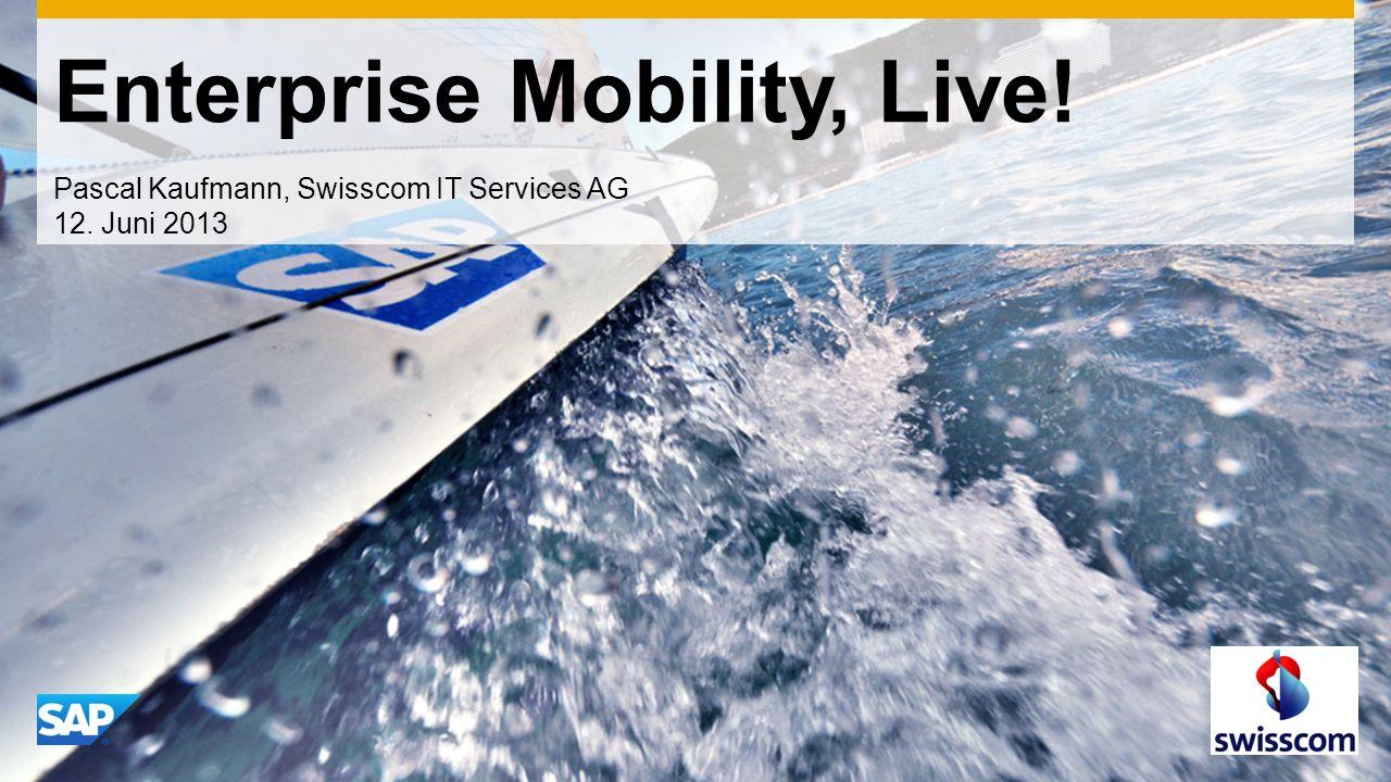Enterprise Mobility, Live!
