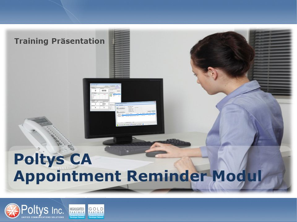 Poltys CA Appointment Reminder Modul