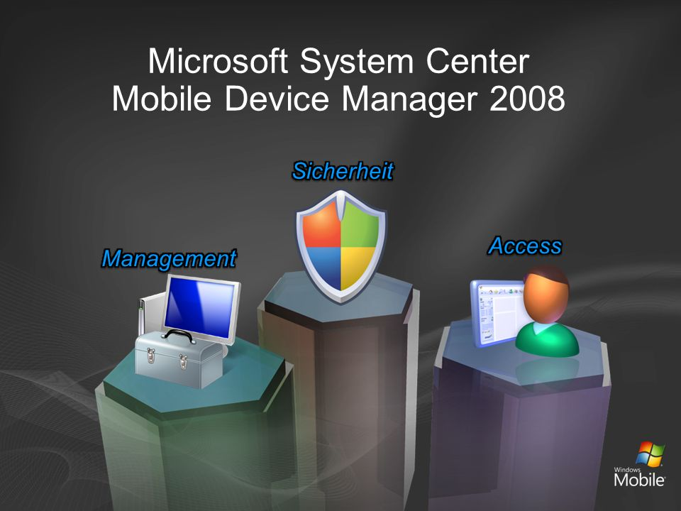 Microsoft System Center Mobile Device Manager 2008