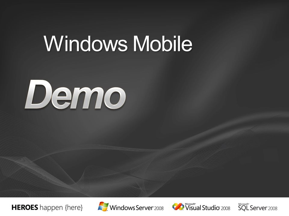 Demo Windows Mobile 3/28/2017 5:36 PM