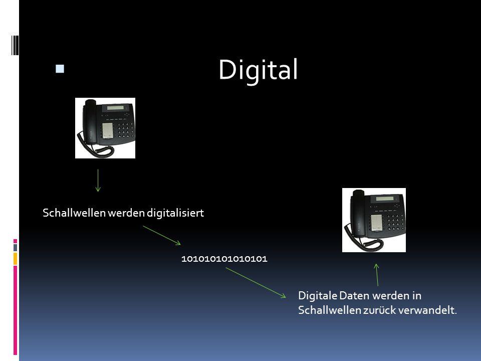 Digital Schallwellen werden digitalisiert 101010101010101