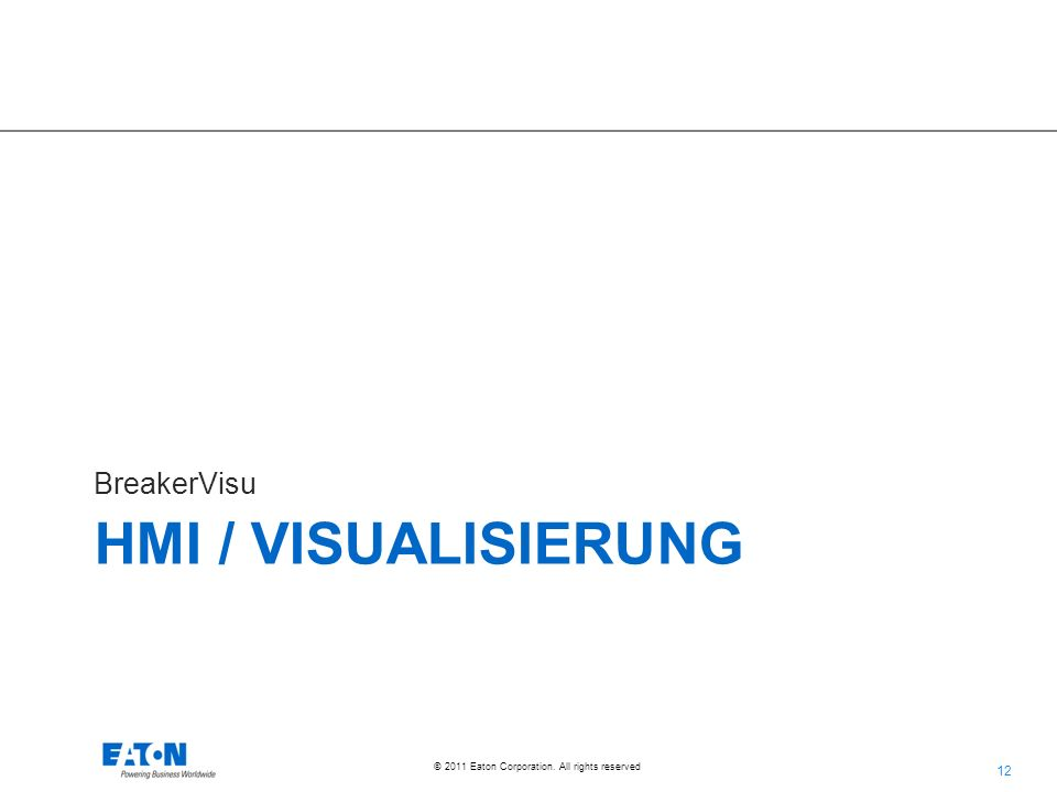 BreakerVisu HMI / Visualisierung