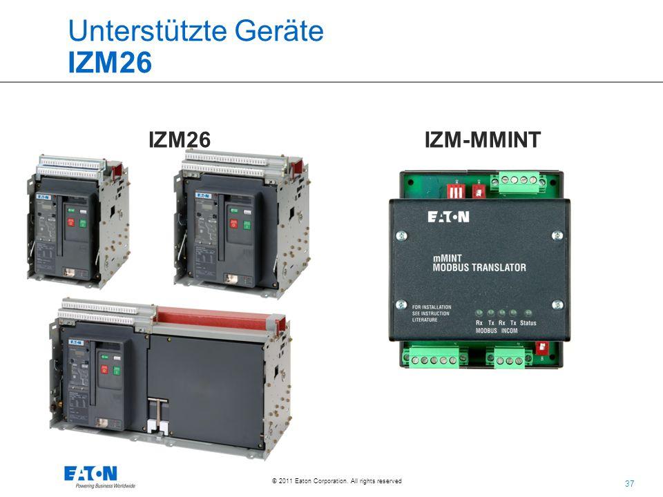 Unterstützte Geräte IZM26