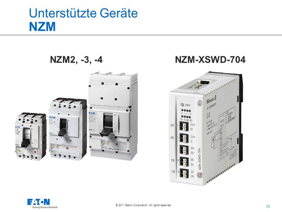 Unterstützte Geräte NZM
