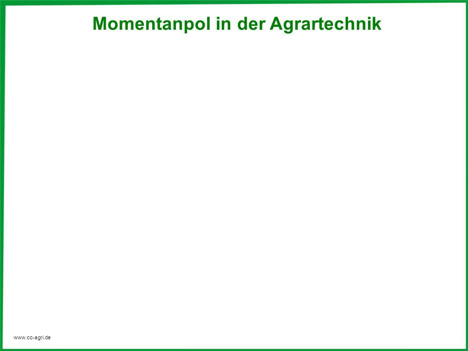 Momentanpol in der Agrartechnik