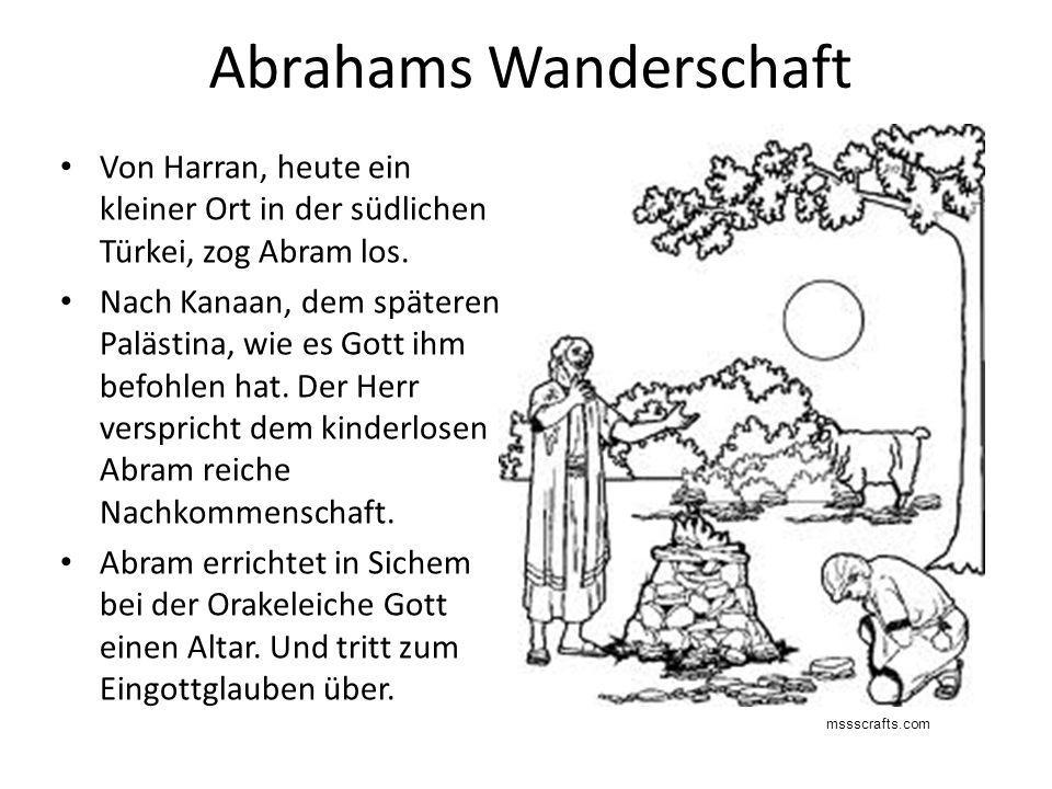 Abrahams Wanderschaft
