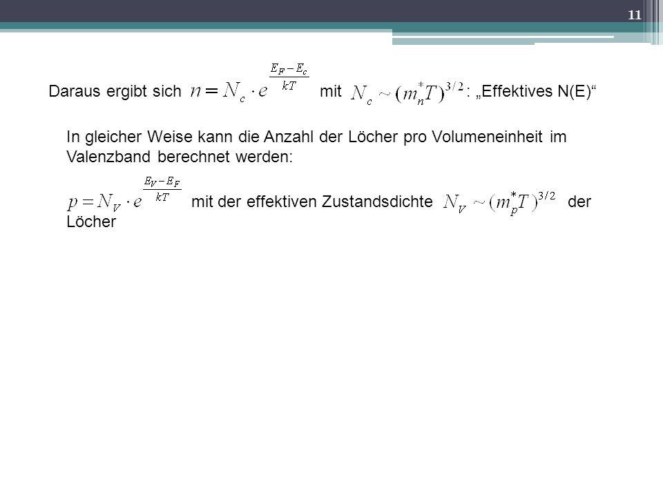 """Daraus ergibt sich mit : """"Effektives N(E)"""