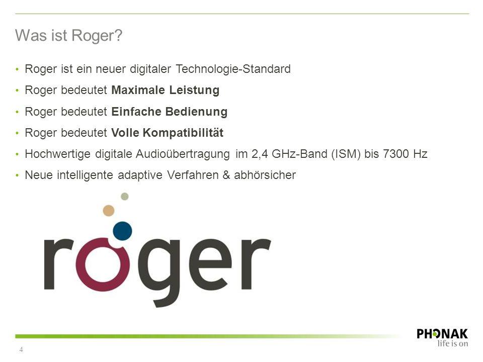 Was ist Roger Roger ist ein neuer digitaler Technologie-Standard