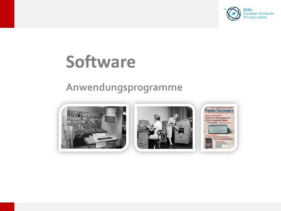 Software Anwendungsprogramme