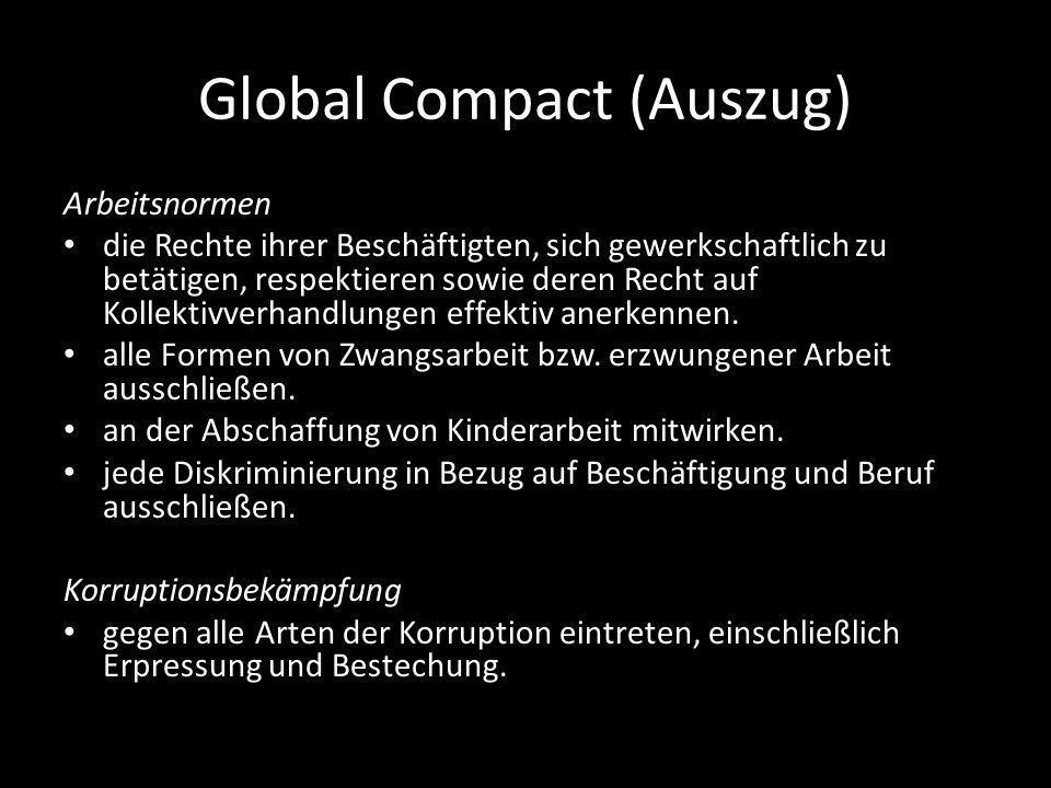 Global Compact (Auszug)