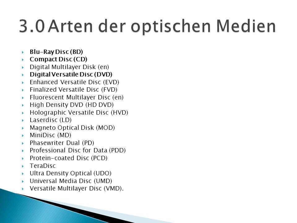 3.0 Arten der optischen Medien