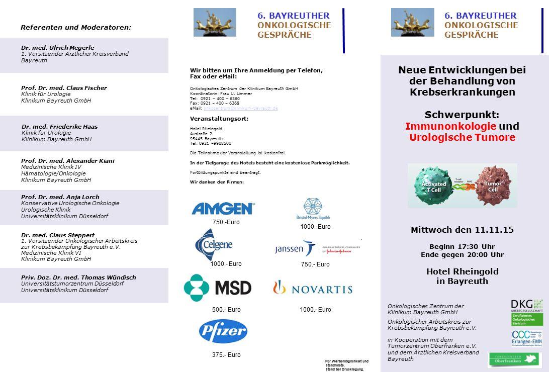 Neue Entwicklungen bei der Behandlung von Krebserkrankungen