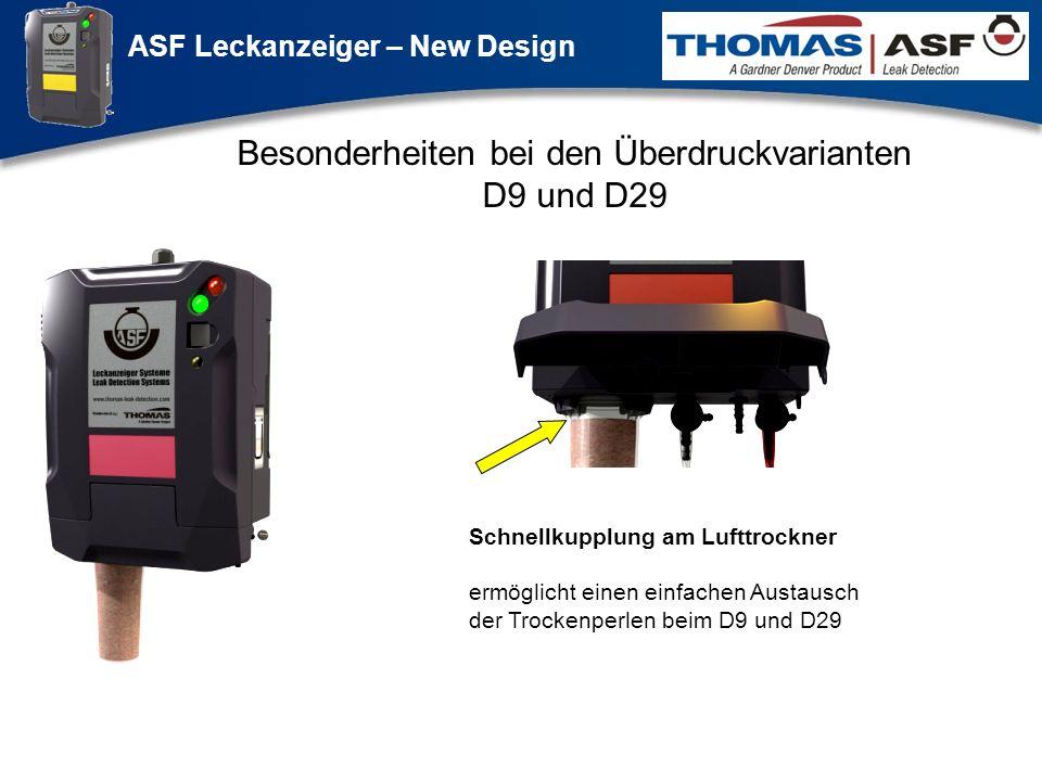 Besonderheiten bei den Überdruckvarianten D9 und D29