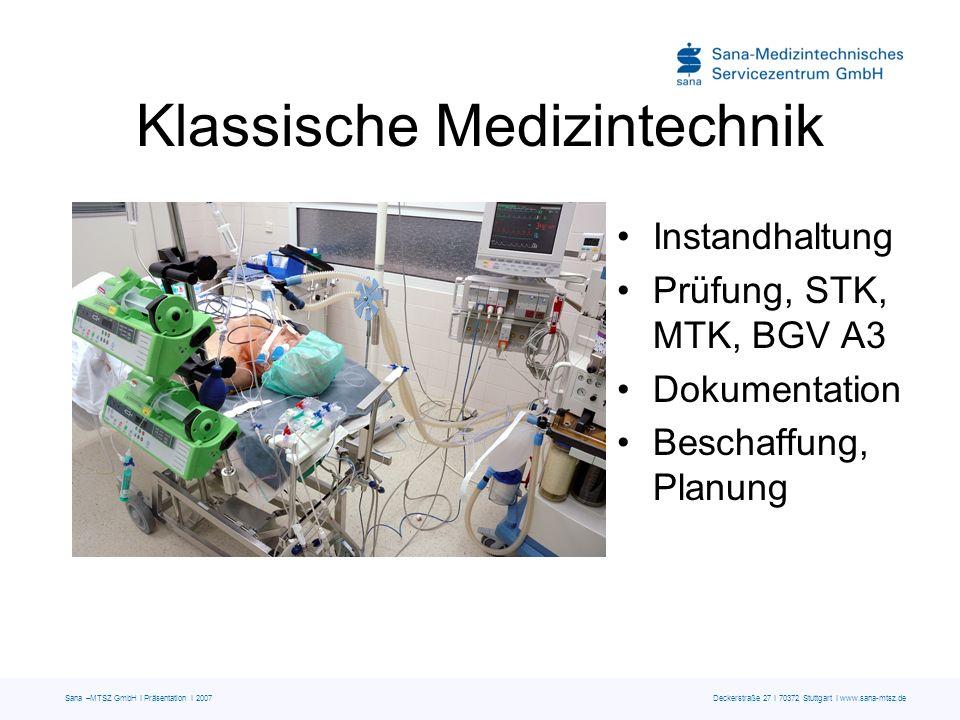 Klassische Medizintechnik
